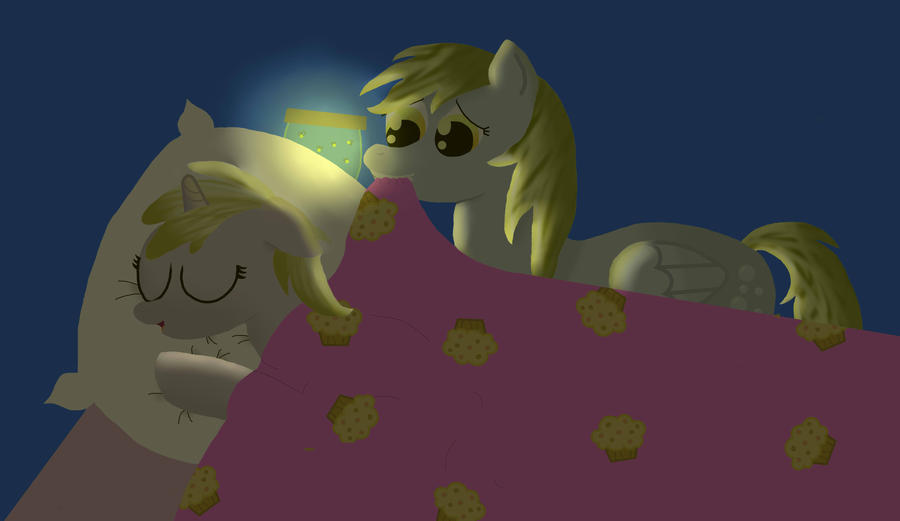 Bed Time by eillahwolf