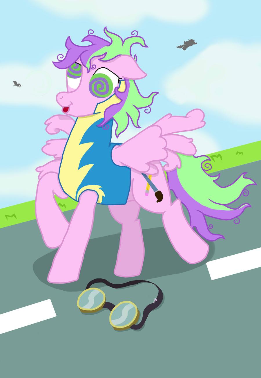Dizzy Pony by eillahwolf