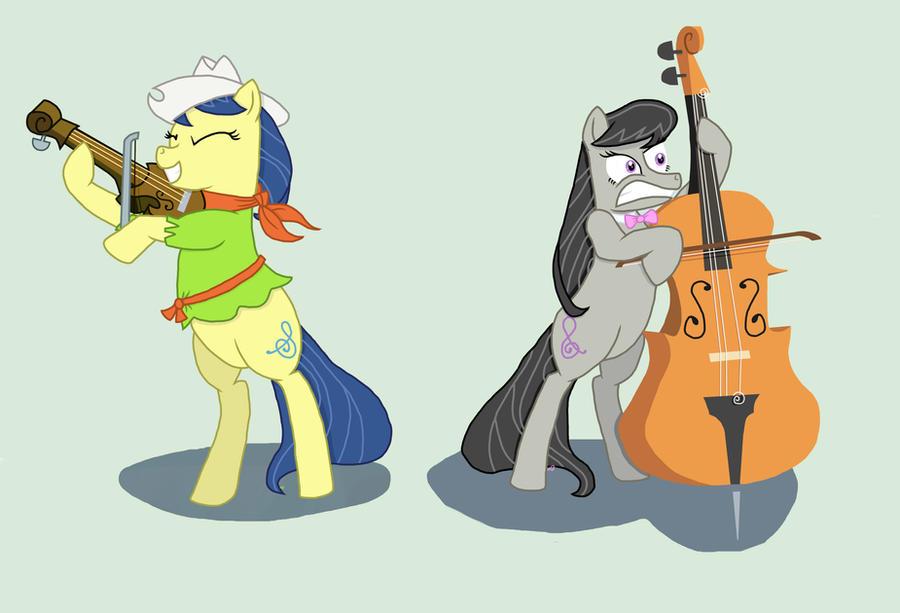 Violin Cutie Mark Octavia and Fiddlesticks by