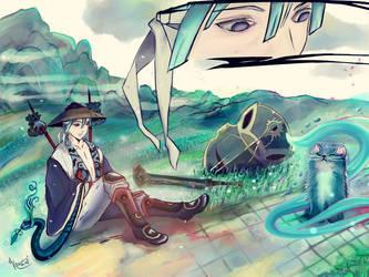 catVShuman by krustal-chan