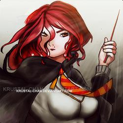 Hermione The Redhead by krustal-chan