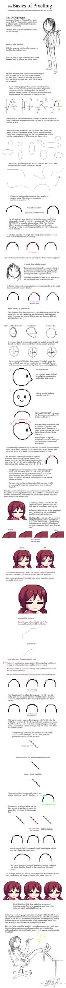 Basic Pixel Tutorial by Alichee