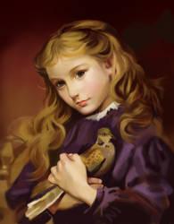 Turtle Dove by alizawren