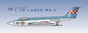 Laker L.70 Lance Mk. I - Naval Air Arm, VL03312