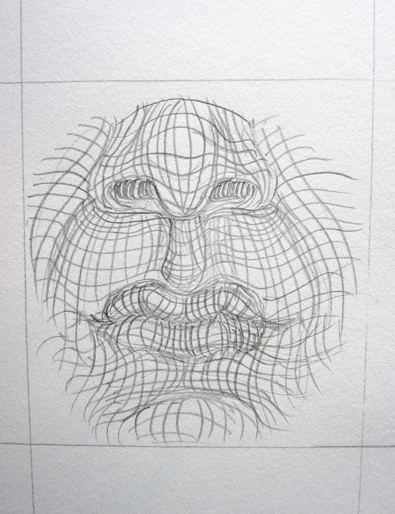 Contour Line Drawing Makeup : Cross contour mouth by kcarbonari on deviantart