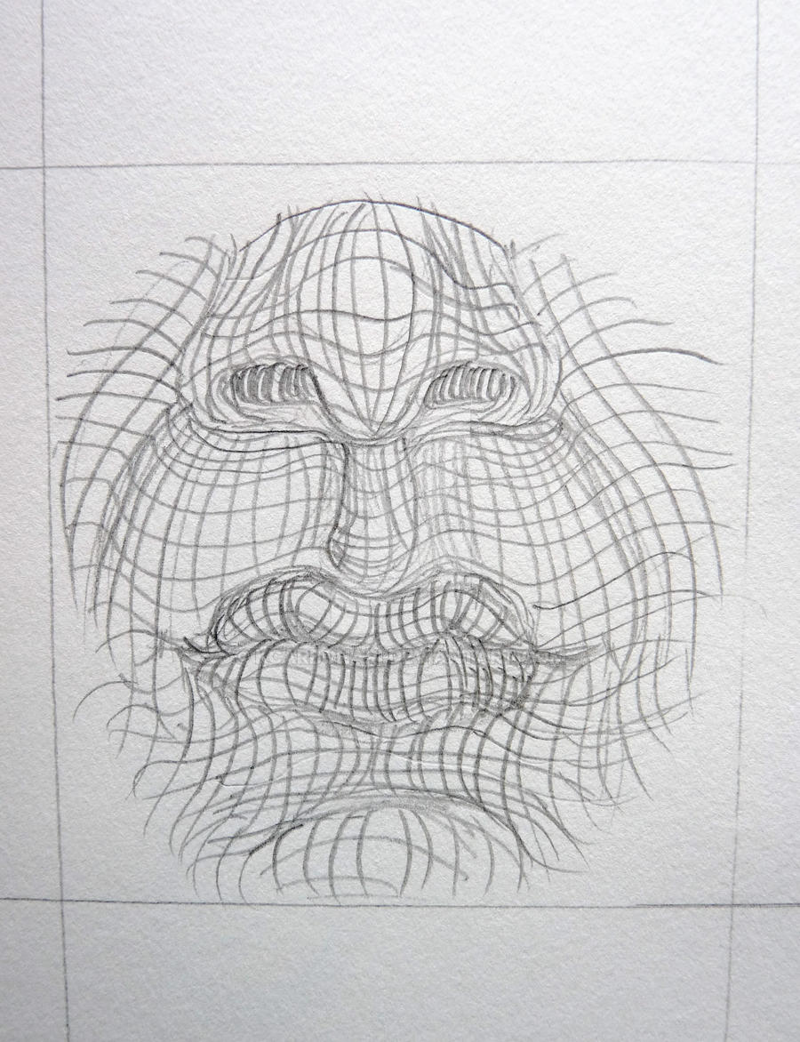 Contour Line Drawing Jobs : Cross contour mouth by kcarbonari on deviantart