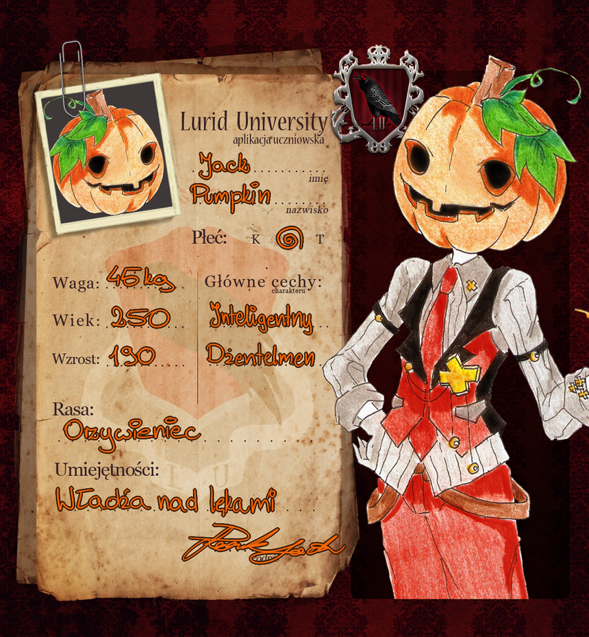 LU: Pumpkin Jack by Margaret-Lupin