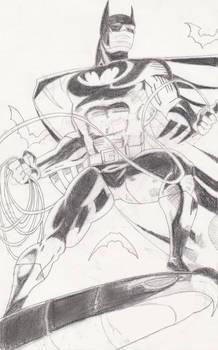 Batman on Fire! -Pencils-
