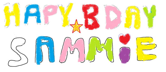 Sams bday card
