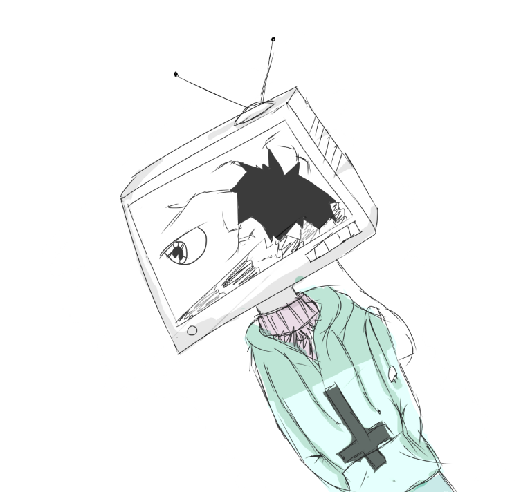 Tv Head || Kai by Thecreepyvirginqueen