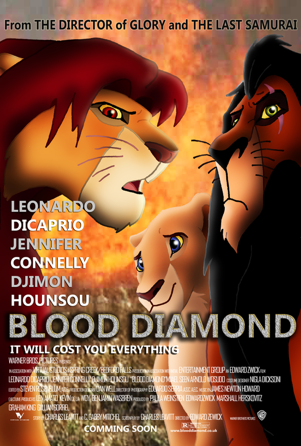 Blood Diamond Lion King Post by TomCat-Priest