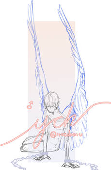 YCH captured wings SET PRICE [CLOSED]