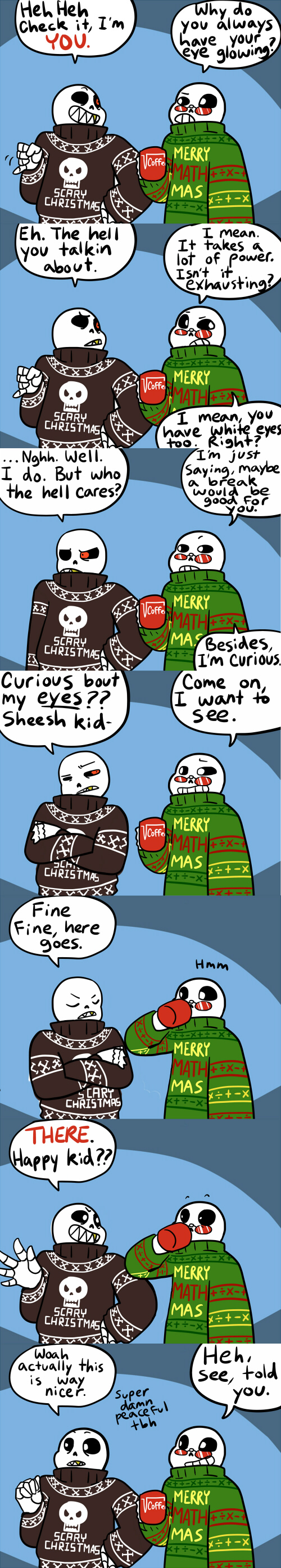 Christmas Party Au Comic.Cpau1 By Thecrayonqueen On Deviantart