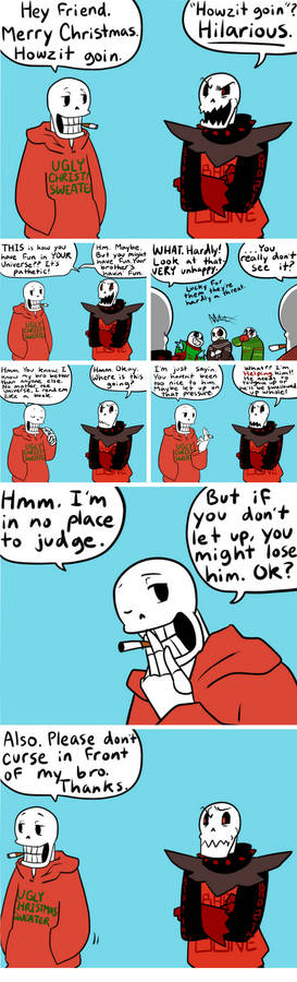 Christmas Party Au Comic.Ut Fancomic Christmas Party Au By Thecrayonqueen On Deviantart