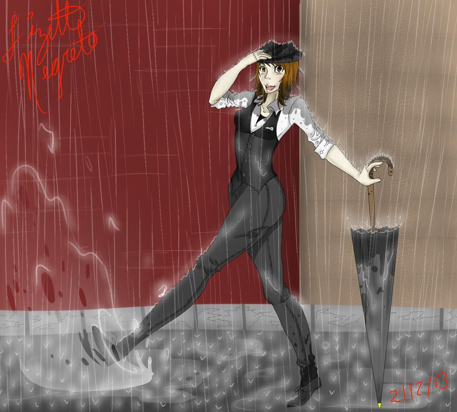 Singing In The Rain By Marakura100 On DeviantArt