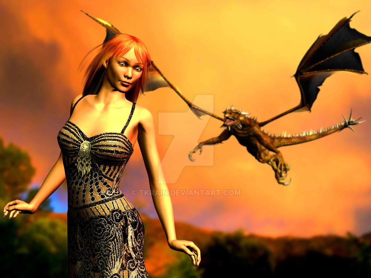 The Dragon's Consort by Tkrain