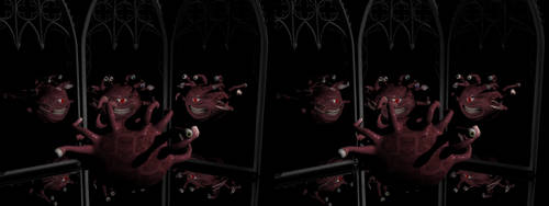 Beholder Narcissus Stereo by Tkrain