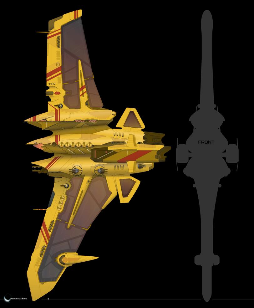 Jabir-class Patrol Frigate by The-SKA-King