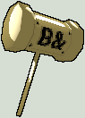 THE ALMIGHTY BANHAMMER by Trigononamous