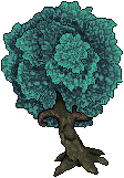 Pixel Art Tree by ApprenticeOfArt