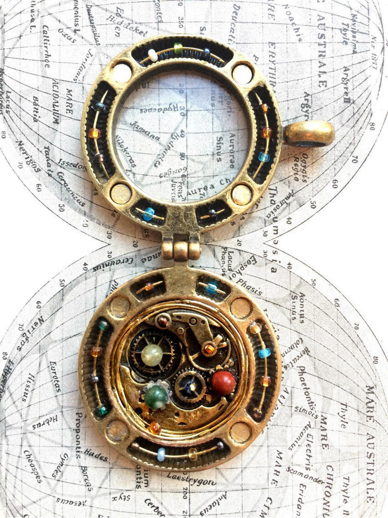 Orrery inspired locketpendant large by ristay on deviantart orrery inspired locketpendant large by ristay aloadofball Image collections