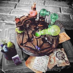 Skyrim Alchemy Table II by Ristay