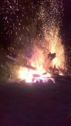 Bonfire collapsed