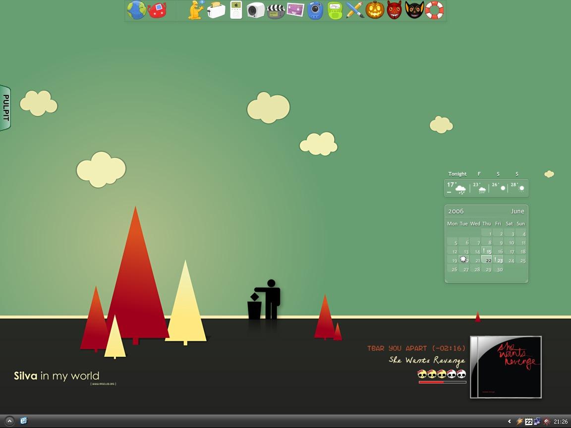 The green screen by manitu