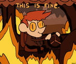 this is fine by sokoistrying