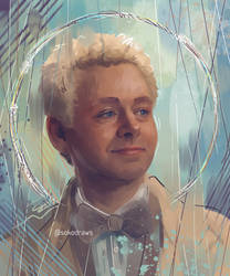 Aziraphale by sokoistrying