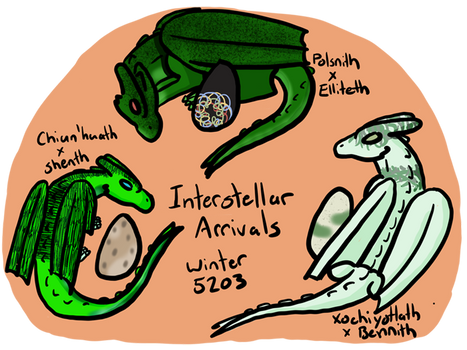 Interstellar Arrivals Clutch