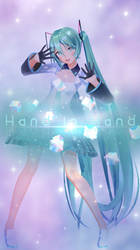 [10th Anniversary] Hand In Hand Motion Distriution by mikumikuiki