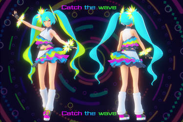 Hatsune Miku 'Catch the Wave' [Model Distribution]