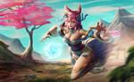 Spirit Blossom Ahri - Fanart