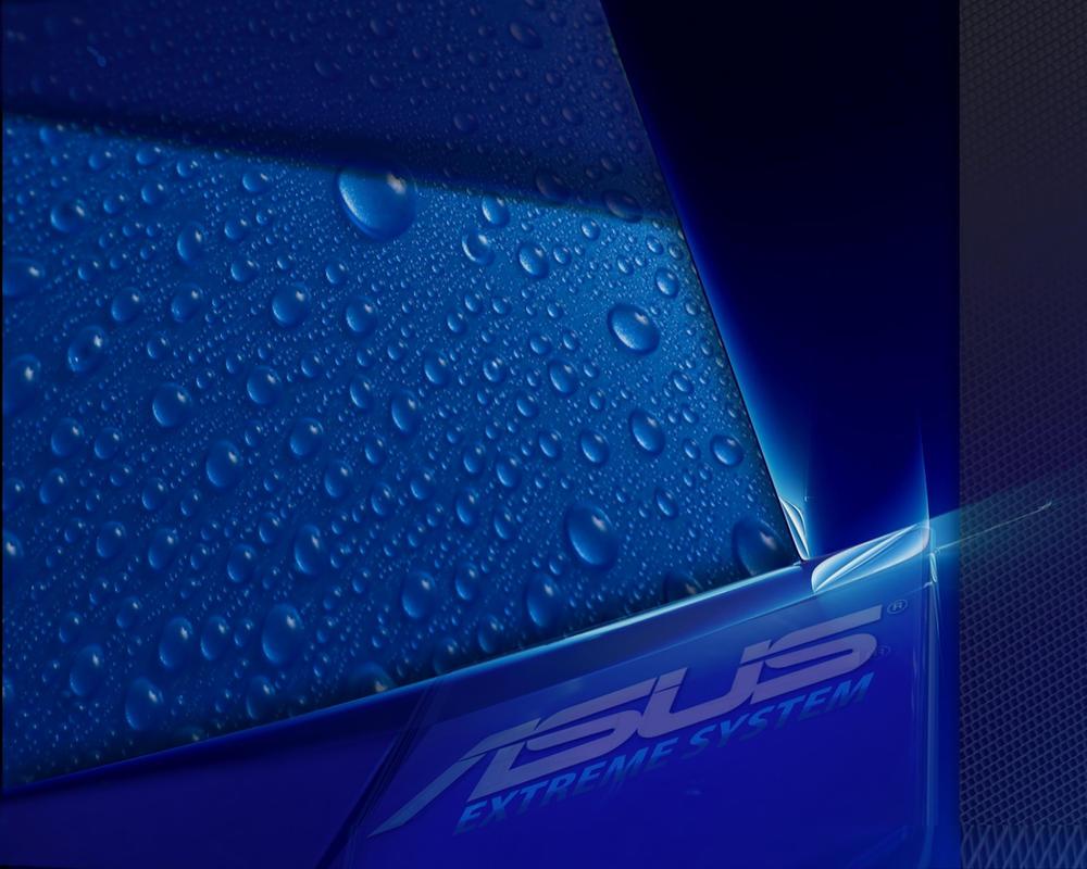 ASUS WALLPAPER BLUE By Kukima