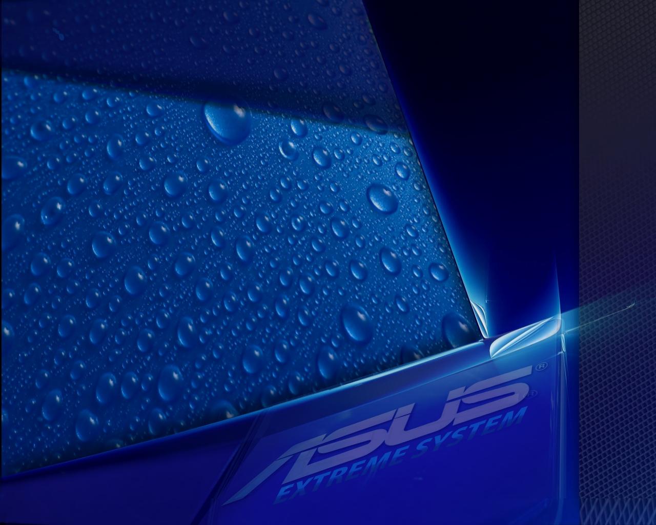 Asus Blue Wallpaper