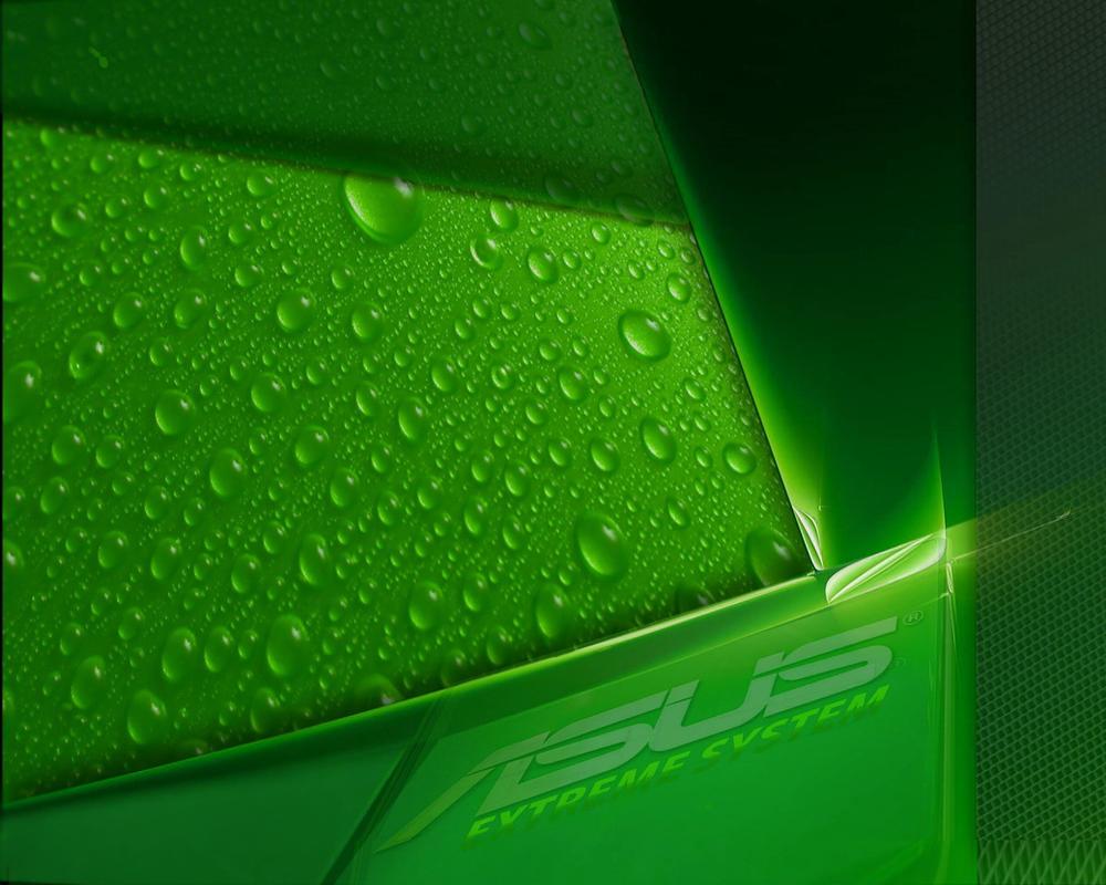 ASUS WALLPAPER-Green by kukima