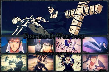 Wolfwood...The Priest by Syleria11