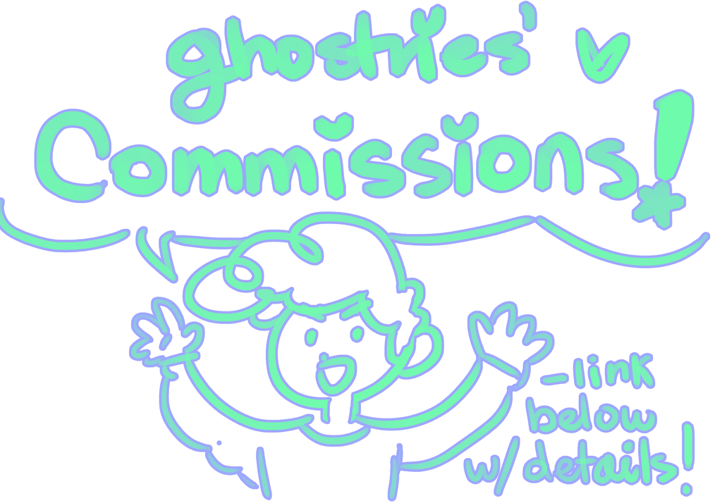 REOPENING THE COMMISSIONS!! by Arynetcomics