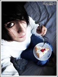 L Cake - Death Note by ewiku