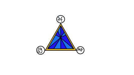 zodiac trio tattoo number 2