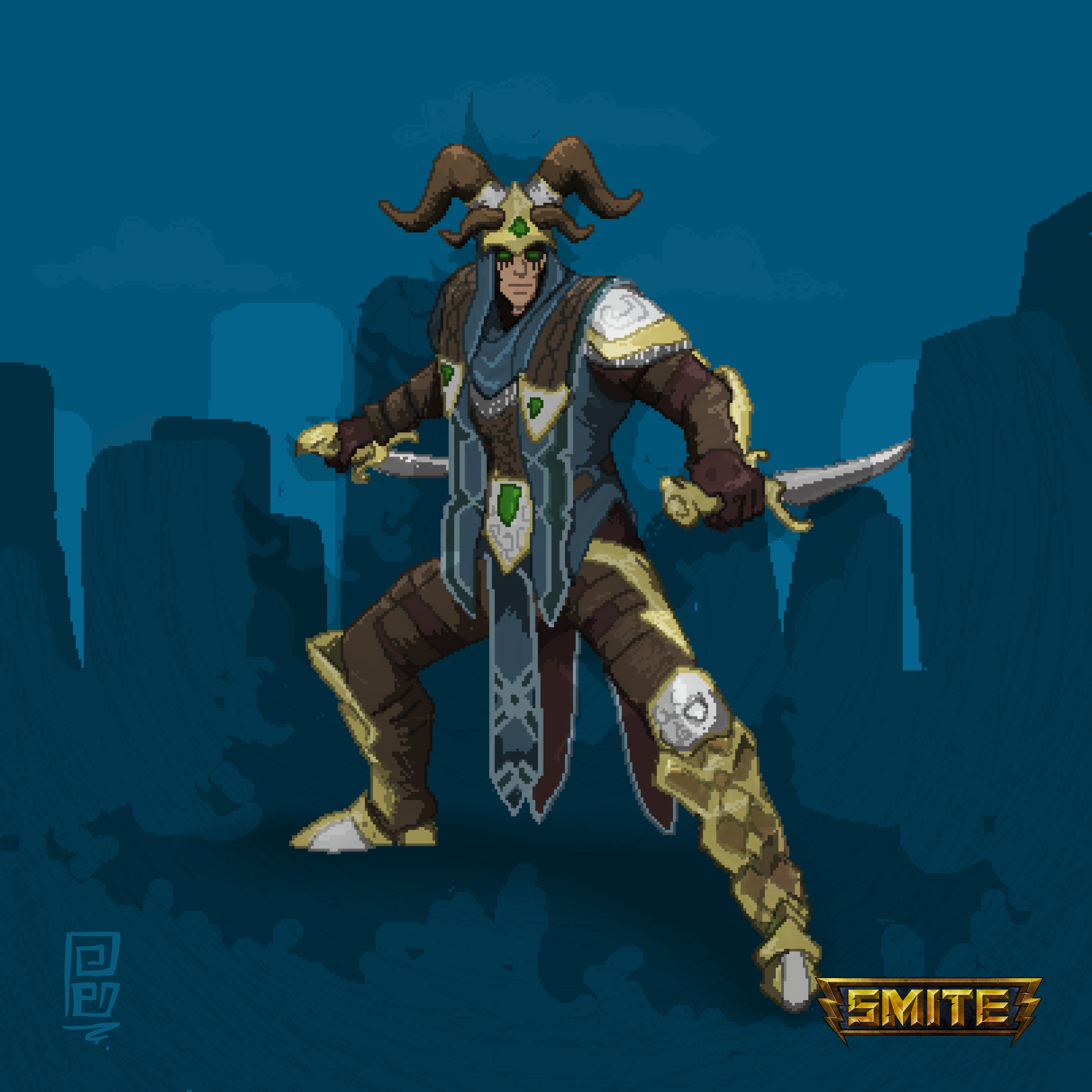Pictures of Smite Wallpaper Loki - #rock-cafe