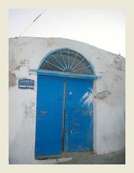 Closed door by koffiekitten