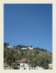 Hill view Sidi Bou Said by koffiekitten