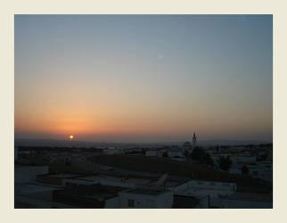Ibn Sina Sunset by koffiekitten