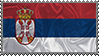 Serbia-silk-stamp by WolfGrid