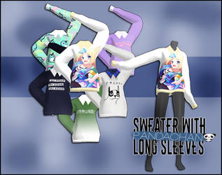 MMd_PaNdaChAn_converted_thing11|sweaterdl by PaNdaChAnMMD