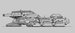'Behemoth' Terrestrial Dreadnought (incomplete)