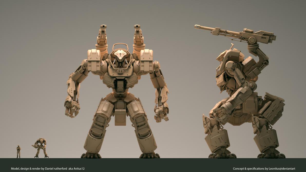 Tsviet military- Augmented Intelligence MSV Mk.XI* by Leonitus