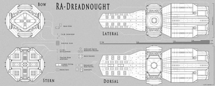 A.N.E.G. Ra-class Dreadnought - 'Khepri'